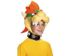 Nintendo Super Mario Bros Bowser Costume Headpiece Child