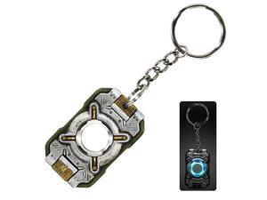 Halo 4 Cortana Replica Chip Light Up Keychain