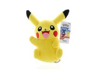 """Pokemon XY 8"""" Plush Pikachu Open Mouth"""