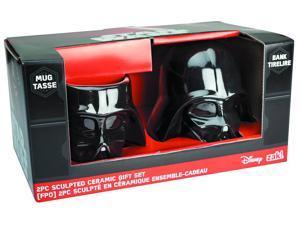 Star Wars Darth Vader Sculpted Ceramic Gift Set: Mug and Bank