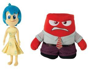 Disney/Pixar's Inside Out Plush Anger & Joy Set