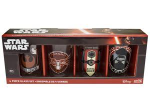 Star Wars: The Force Awakens 16 oz. Glasses: Set of 4