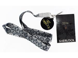 Sherlock Holmes Lanyard: 221B with 2D Get Sherlocked Charm