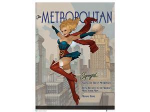 DC Bombshells Supergirl Art Print