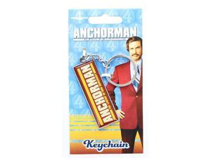Anchorman The Legend of Ron Burgundy Logo Keychain