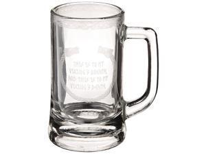 Vikings 12oz. Glass Stein Mug