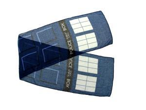 Doctor Who TARDIS Lightweight Adult Costume Scarf