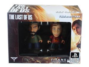 """The Last of Us 3"""" Joel & Ellie Vinyl Figures"""