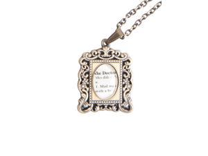 Doctor Who Antique Frame Necklace
