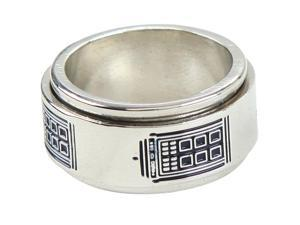 Doctor Who Tardis Spinner Ring Size 7