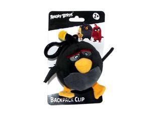 "Angry Birds Movie 4.5"" Plush Clip On: Bomb"