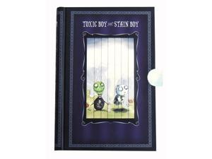Tim Burton's Toxic Boy and Stain Boy Pull-Tab Journal
