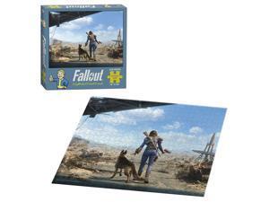 Fallout Neighborhood Patrol 550-Piece Puzzle