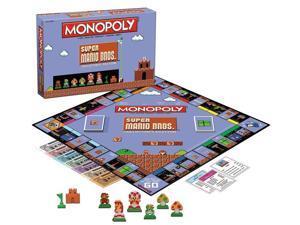 Super Mario Bros Monopoly Collector's Edition Board Game
