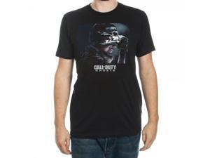 Call Of Duty Ghosts Premium Black T Shirt Large