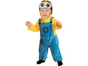 Despicable Me 2 Minion Dave Costume Infant Toddler Infant
