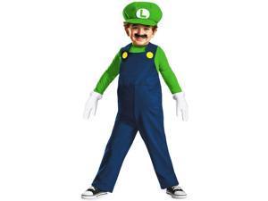 Nintendo Super Mario Bros Toddler Luigi Costume Medium 3-4T