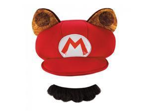 Super Mario Bros Nintendo Mario Raccoon Costume Kit Child One Size