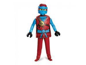Lego Ninjago Nya Deluxe Child Costume Large 10-12