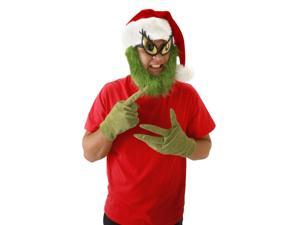 Dr. Seuss The Grinch Costume Gloves One Size