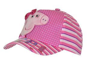 Peppa Pig Girl's Satin Bow Embroidered Baseball Cap