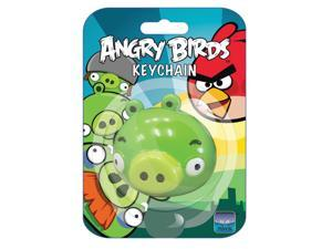 "Angry Birds 2"" PVC Keychain: Green Pig"