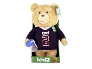 "Ted 2 Movie 16"" Talking Plush Ted In Jersey With Sound *Explicit*"