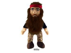 "Duck Dynasty 8"" Plush With Sound Willie"