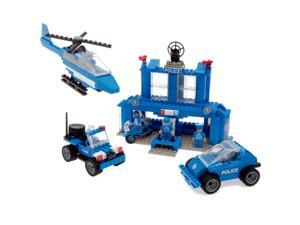 Best Lock Construction Toys 450 Piece: Police Station