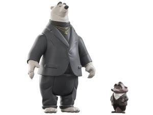 Disney Zootopia Character 2-Pack Mr.Big And Koslov Figures
