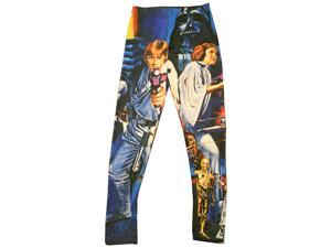 Star Wars Saber Wars Adult Costume Leggings X-Small
