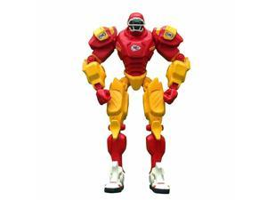 "NFL Kansas City Chiefs 10"" Cleatus Fox Robot Action Figure"