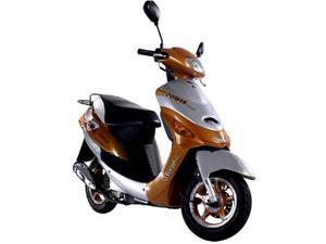 Brand New 50cc 4 Stroke Velocity Moped Scooter