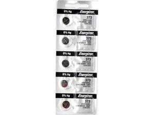 Energizer Battery 373 (SR916SW) Silver Oxide 1.55V (5 Battereies Per Pack)