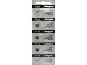 Energizer Battery 315 SR716SW Silver Oxide 1.55V (5 Per Pack)