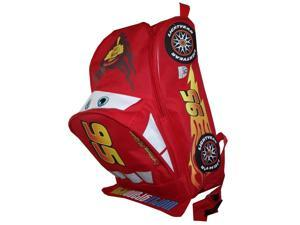 "Small Backpack - Disney - Cars Shaped 12"" School Bag New 343315"