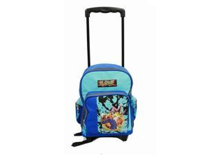 Small Rolling Backpack - Yu-Gi-Oh - Blue (Blue) New School Bag 49061