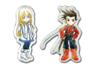 Pin Set - Tales Of Symphonia - New SD Colette & SD Lloyd (Set of 2) ge50163