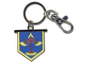 Key Chain - Free! - New Iwatobi High School Emblem Metal Ring ge36926