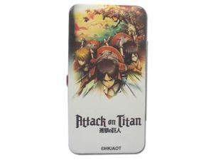 Hinge Wallet - Attack on Titan - New Key Art Toys Anime Licensed ge61109