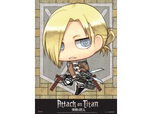 Wall Scroll - Attack on Titan - New SD Annie Art Toys Anime Gifts ge60570
