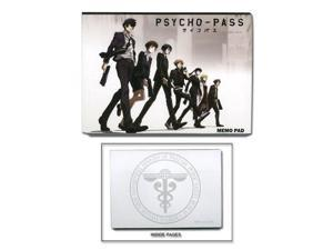Memo Pad - Psycho-Pass - New Safety Bureau Anime Licensed ge72047