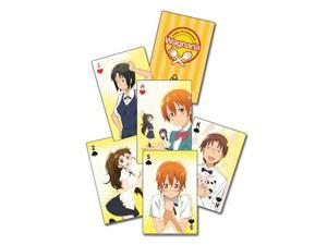 Playing Cards - Wagnaria!! - New Poker Game Anime Gifts Licensed ge51534