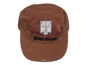 Hat - Attack on Titan - New Cadet Crops Brown Cap Anime Gifts ge32222
