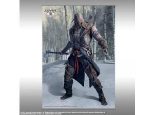Wall Scroll - Assassin's Creed 3 - Vol. 1 - Connor Pose Art Gifts Toys New