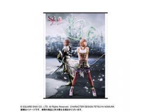 Wall Scroll - Final Fantasy XIII - New Lightning & Serah Art Licensed
