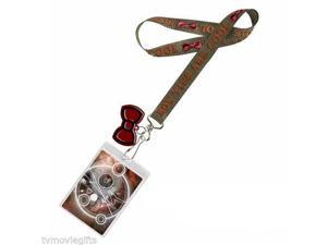 Lanyard - Doctor Who - Bow Ties Are Cool w/ 2D Charm New Licensed Toys dw01213
