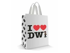 Tote Bag - Dr. Who - I Heart Heart the Doctor New Licensed dw01151