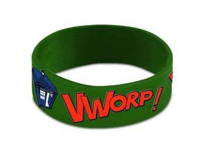 Wristband - Doctor Who - Vworp Vworp PVC New Gift Toys Licensed dw01129