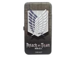 Hinge Wallet - Attack on Titan - New Scout Regiment Toys Anime ge61106